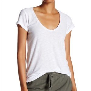 James Perse Standard Tee in White